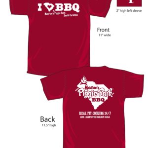 Carolina BBQ T-Shirt